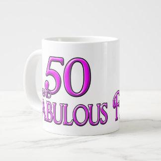 50 & FABULOUS JUMBO MUG