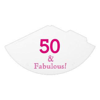 50 & Fabulous Paper Party Hats