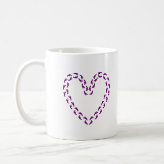 50 Feet of Love Mug Purple