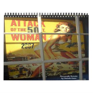 50 ft woman, 2007, Photographic Memoriesby Cass... Calendars