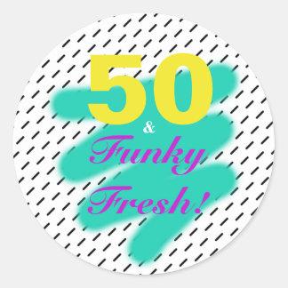 50 & Funky Fresh | Sticker
