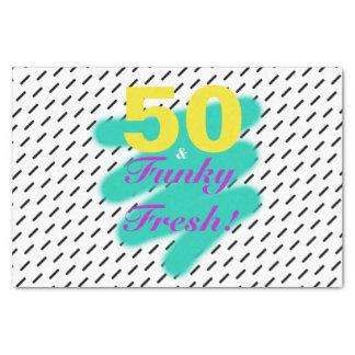 50 & Funky Fresh   Tissue Paper