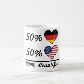 50% German 50% American 100% Beautiful Coffee Mug