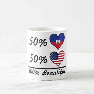50% Haitian 50% American 100% Beautiful Coffee Mug