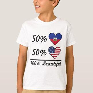 50% Haitian 50% American 100% Beautiful T-Shirt