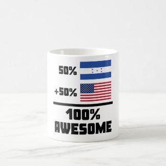 50% Honduran 50% American 100% Awesome Coffee Mug