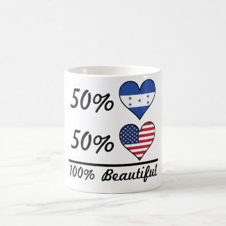50% Honduran 50% American 100% Beautiful Coffee Mug