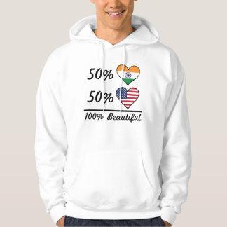 50% Indian 50% American 100% Beautiful Hoodie