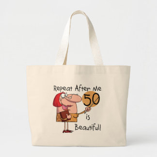 50 is Beautiful Tshirts and Gifts Bag