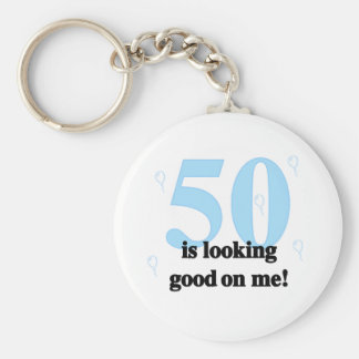50 is Looking Good on Me Keychain