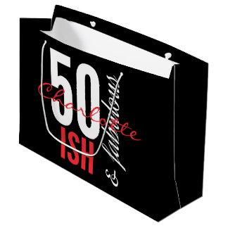 50 ish and Fabulous Fun Large Gift Bag