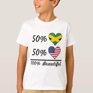50% Jamaican 50% American 100% Beautiful T-Shirt