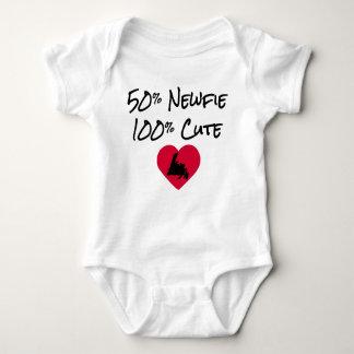 50% Newfie - 100% Cute Baby Bodysuit