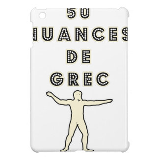 50 NUANCES OF GREEK - Word games - François City iPad Mini Covers