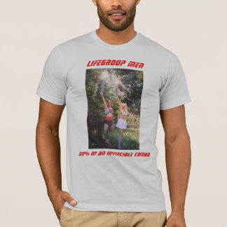50% of an invincible combo, Lifegroup Men T-Shirt