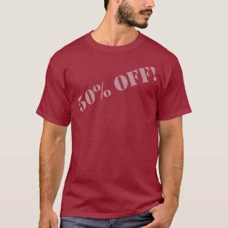 50% OFF! (Grey font-B) T-Shirt