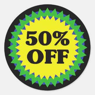 50% OFF RETAIL SALE Sticker