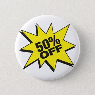 50 Percent Off Button
