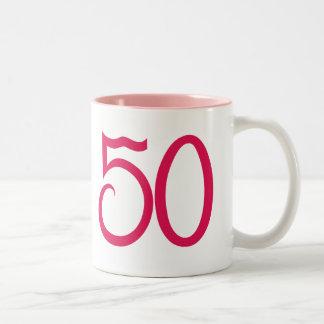 50 Pink Mug