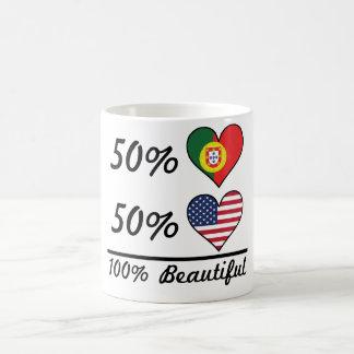 50% Portuguese 50% American 100% Beautiful Coffee Mug