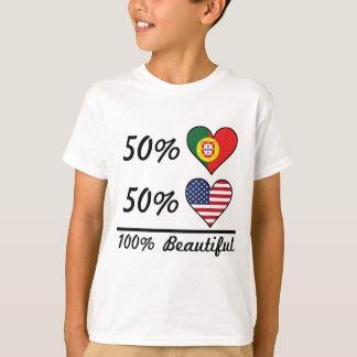 50% Portuguese 50% American 100% Beautiful T-Shirt