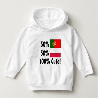 50% Portuguese 50% Poland 100% Cute Hoodie