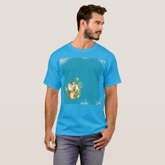 50 Shades Of Gato Blue Watercolor Rare T-Shirt