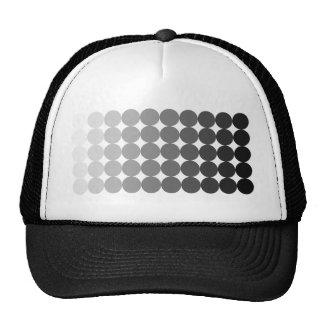 50 Shades of Grey Circles Hat
