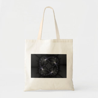 50 Shades Of Grey - Fractal Art Canvas Bag