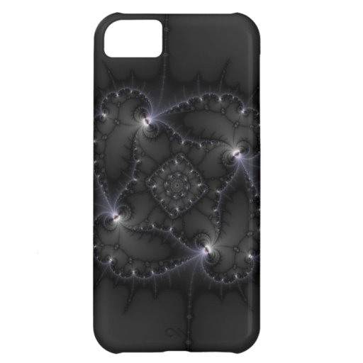 50 Shades Of Grey - Fractal Art iPhone 5C Covers
