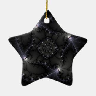 50 Shades Of Grey - Fractal Art Ornament