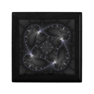 50 Shades Of Grey - Fractal Art Keepsake Box