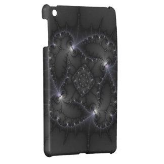 50 Shades Of Grey - Fractal Art iPad Mini Case