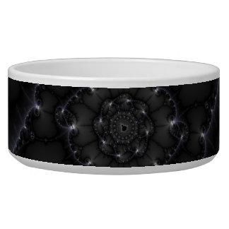 50 Shades Of Grey - Fractal Art Dog Water Bowl
