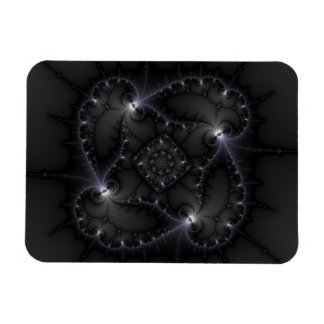 50 Shades Of Grey - Fractal Art Rectangle Magnets