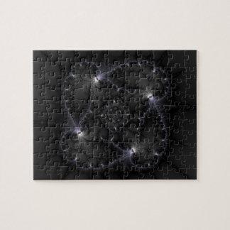 50 Shades Of Grey - Fractal Art Jigsaw Puzzle