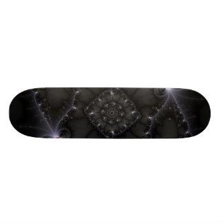 50 Shades Of Grey - Fractal Art Skate Board