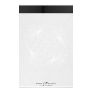 50 Shades Of Grey - Fractal Art Stationery Paper