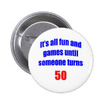50 Someone turns 50 Buttons