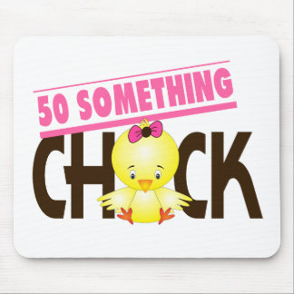 50-Something Chick 1 Mousepad