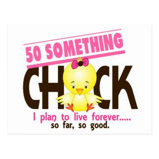 50-Something Chick 5 Postcard