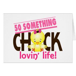 50-Something Chick 6 Greeting Card