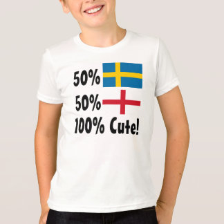 50% Swedish 50% English 100% Cute T-Shirt