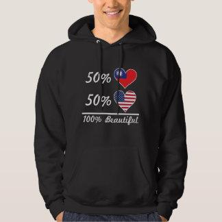 50% Taiwanese 50% American 100% Beautiful Hoodie