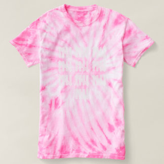 50 Tally Mark Faded 50th Birthday Tie Dye Tee
