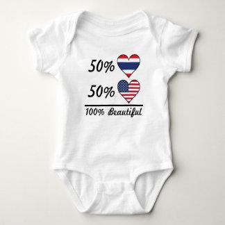 50% Thai 50% American 100% Beautiful Baby Bodysuit