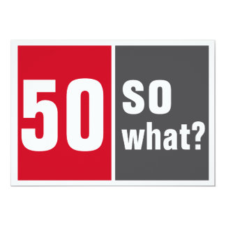 50 well and? card