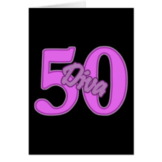 50 year old Diva Card