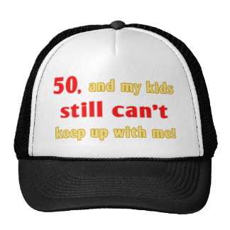 50 Year Old Gag Gift Trucker Hat
