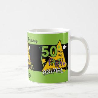 50 Year Old Party Animal | 50th Birthday Coffee Mug